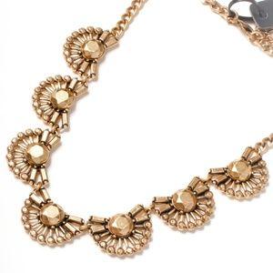Jcrew golden statement necklace